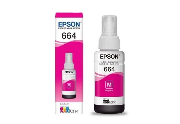 REFIL ECOTANK ORIGINAL EPSON 664 MAGENTA