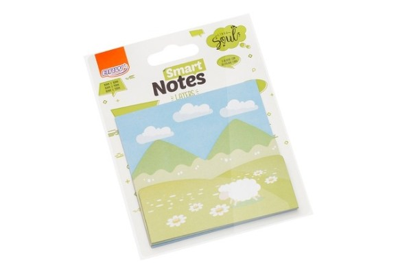 BLOCO SMART NOTES LAYERS - MONTANHA - 20FLS - 3BLOCOS