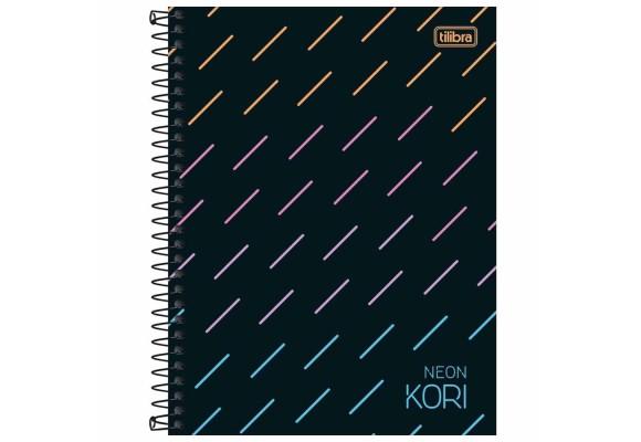 CADERNO CD NEON KORI 177X240 80 FLS P30